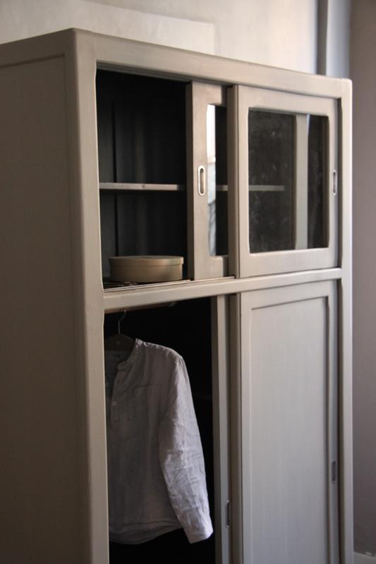 meuble de cuisine ann es 50 petite belette. Black Bedroom Furniture Sets. Home Design Ideas