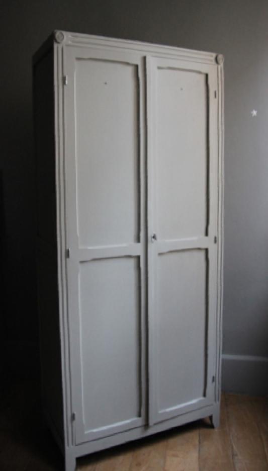 Armoire parisienne r dition petite belette for Reedition meuble vintage